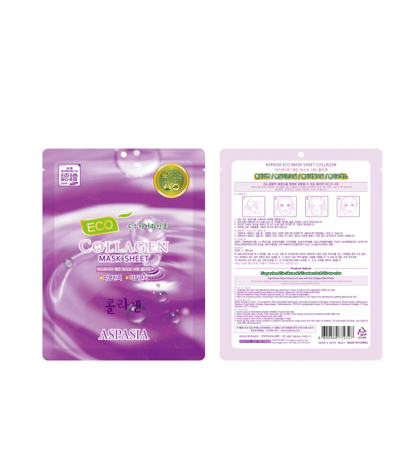 Aspasia Good Face Eco Mask Sheet-Collagen