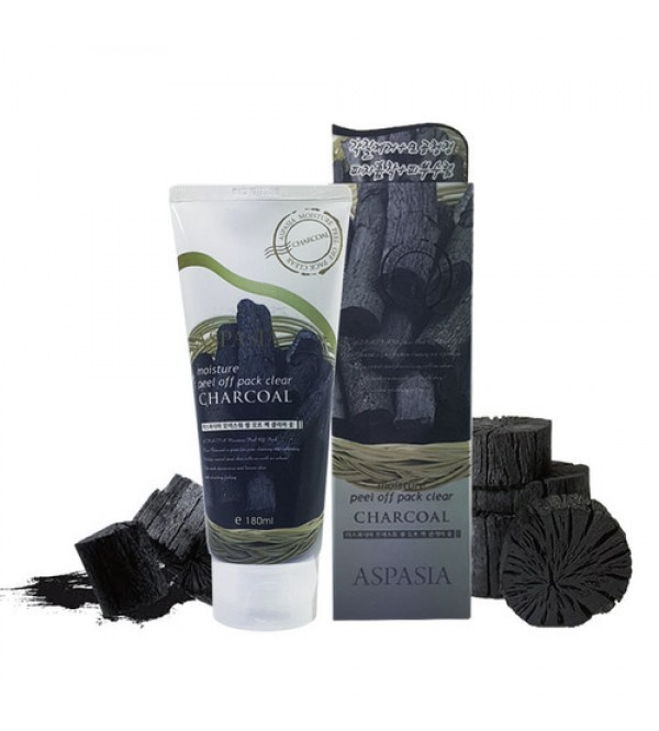 Aspasia Peel Off Pack Clear Charcoal-180ml